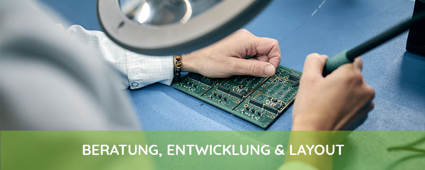 BERATUNG, ENTWICKLUNG & LAYOUT Langjähriges Know-How, Professionalität und Flexibilität