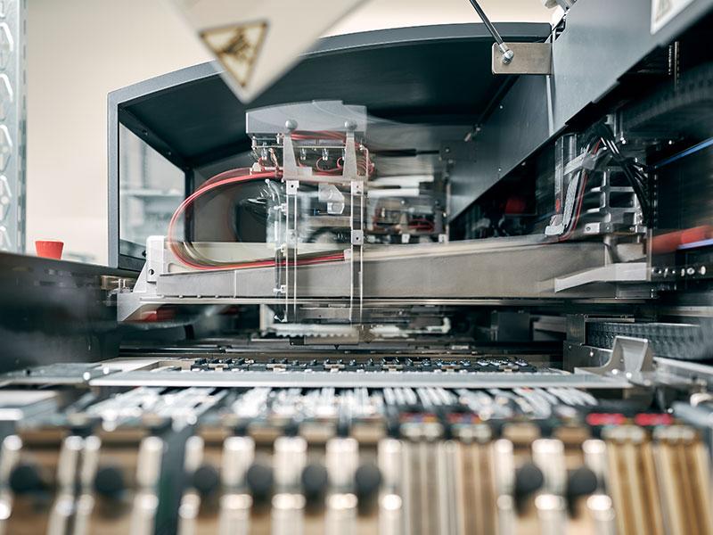 Leiterplattenbestückung Maschinenpark - Bestückautomaten SIPLACE D-Serie